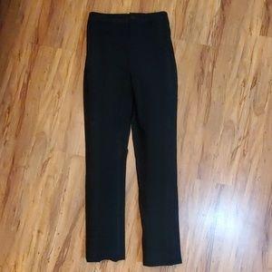 Ralph Lauren Black Label Pants - Ralph Lauren Black Label Sz8 Black Dress Pants